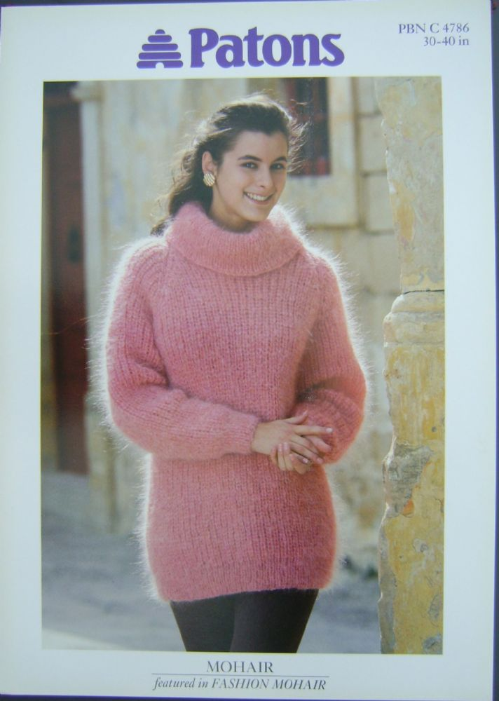 Patons Knitting Pattern 4786